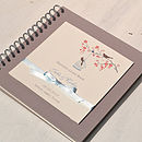 'Love Birds' Personalised Wedding Guest Book