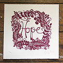 Hope Limited Edition Print