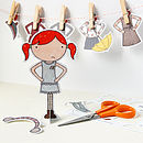 Cut-out Paper Doll