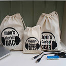 Men's Or Women's Personalised Gadget Bag