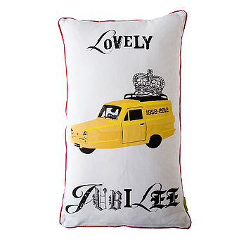 Diamond Jubilee Cushion