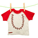 Babies Flower Garland Cotton T Shirt