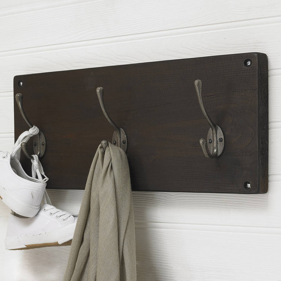 reclaimed wooden victorian style coat hook by möa design ...