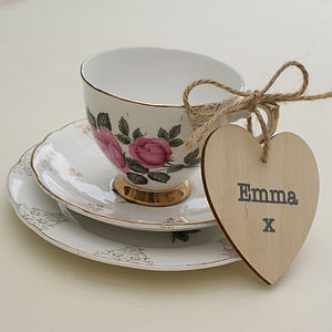 Personalised Wedding Favour Place Setting - dining room