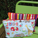 Kid's Personalised Travel Bag & Goodies