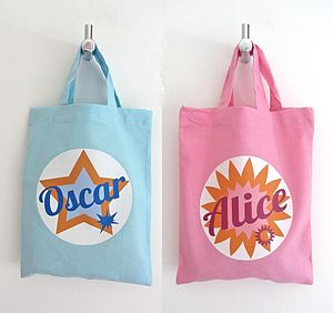 Personalised Gift Bag - children's accessories