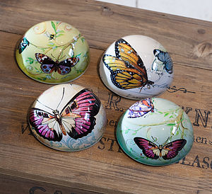 Butterfly Paperweight - paperweights