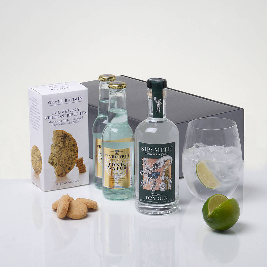 Ultimate Gin And Tonic Kit By Whisk Hampers