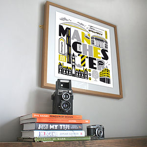 'Manchester' Print - posters & prints