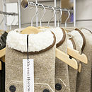 Camel Tweed Dog Coat