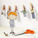 Colin Paper Doll