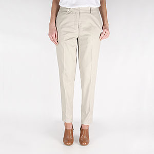 Selina Stone Tailored Trousers - women's fashion