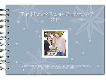 Personalised Family Christmas Book