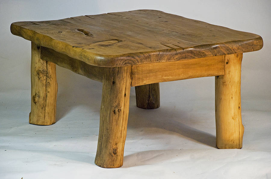 African handmade wooden coffee table by kwetu African coffee tables