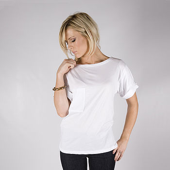 Solid Basic Tee White