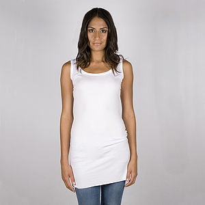 Supersoft Jersey Basic Long Vest - vests & camisoles