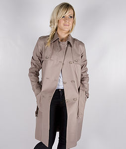 30% Off: Viola Trench Coat - women's fashion