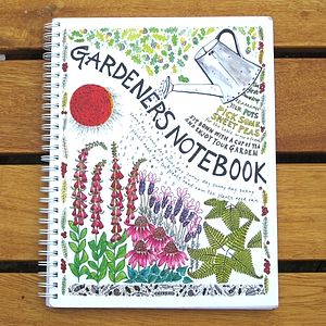 'Gardener's Notebook' - diaries & journals