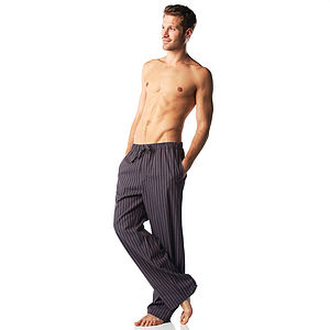 Men's City Stripe Pyjama Trousers