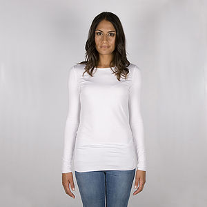 Supersoft Jersey Basic Round Neck Tee - t-shirts