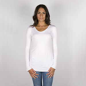 Supersoft Jersey Basic V-Neck Tee - t-shirts
