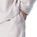 Men's Blue And Red Stripe Pyjamas