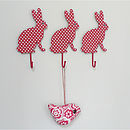 Spotty Rabbit Hanging Hook
