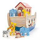 Wooden Noah's Ark Toy
