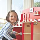 Wooden Kitchenette Diner Play Scene