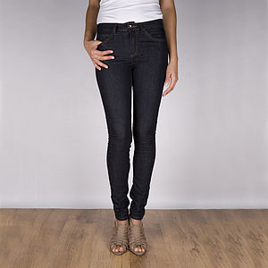 Roberta Dark Blue Denim Jeans - women's fashion
