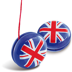 Union Jack YoYo - toys & games