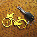 Women's Bicycle Key Ring