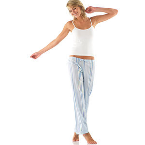 Long Leg Cotton PJ Bottoms: More Colours - lingerie & nightwear
