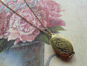 Family Tree Photo Locket Necklace - necklaces & pendants