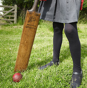 Vintage Cricket Bats, Hockey Sticks And Golf Clubs - gifts for cricket fans