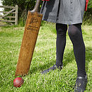Vintage Cricket Bats, Hockey Sticks And Golf Clubs