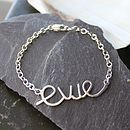 Personalised Baby's Name Bracelet