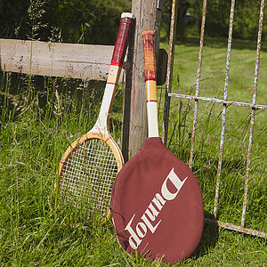 Vintage Tennis Racket - decorative accessories