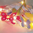 Girl's Butterfly String Fairy Lights