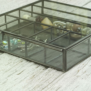 Glass Jewellery Collections Box