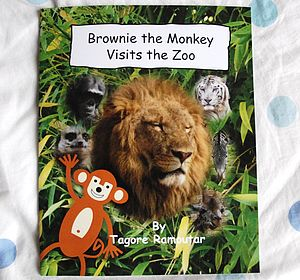 Brownie The Monkey Visits The Zoo Book