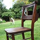 Original Church Chair