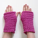 Knit Your Own Wrist Warmers Kit