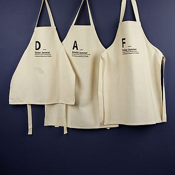 Child's Personalised 'Is For' Apron