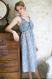 Watergarden&Dapple Print Fleur Nightdresses - lingerie & nightwear