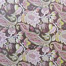 Design 5 Brown Floral Paisley