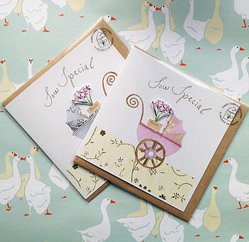 Baby Card With Seeds