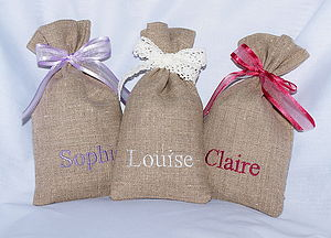Linen Lavender Sacks - home accessories