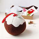 Make Your Own Christmas Pudding Craft Kit