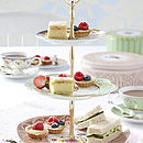 Regency Three Tier Ceramic Cake Stand